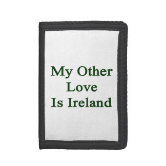 My Other Love Is Ireland Tri-fold Wallet