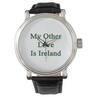 My Other Love Is Ireland Wrist Watches