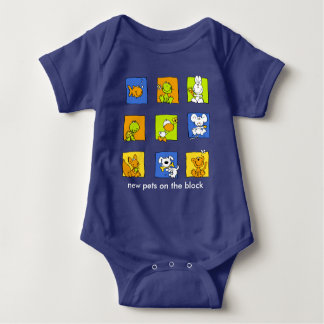 """My other Pet - """"new pets on the block"""" Tshirts"""