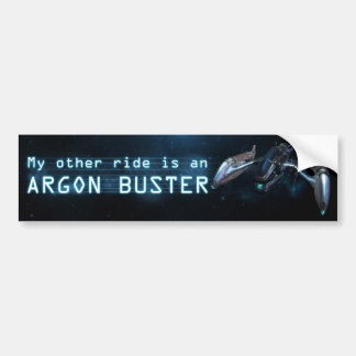 My other ride is an Argon Buster Bumper Sticker
