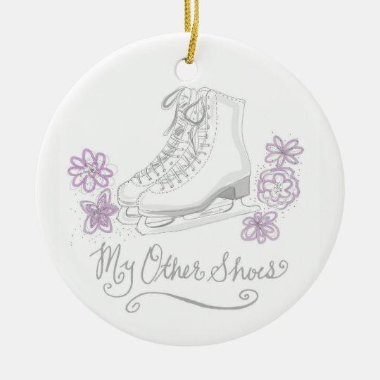 My Other Shoes Figure Skating Ornament