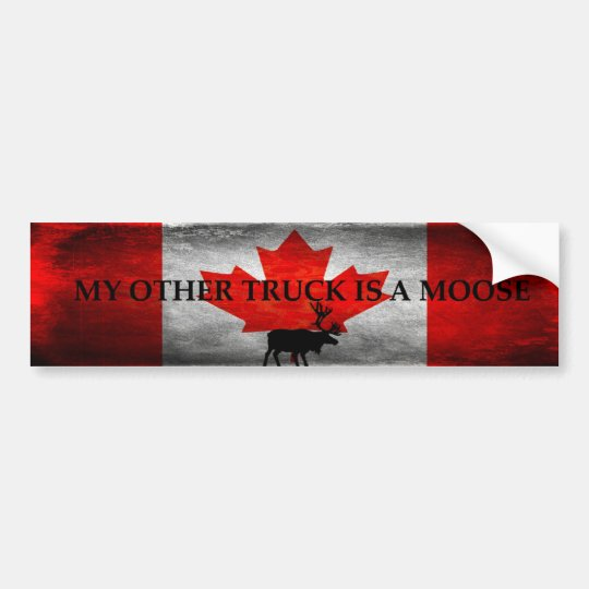 My Other Truck is a Moose Bumper Sticker
