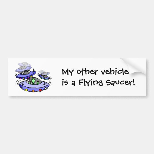 My other vehicle bumper sticker