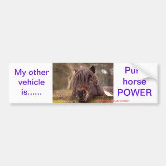 My other vehicle---- bumper sticker