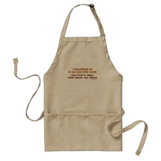 My Own Little World Aprons