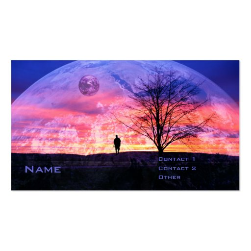 My Own Universe Double-Sided Standard Business Cards (Pack Of 100)