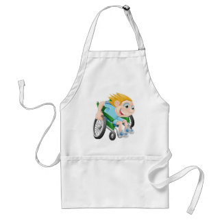 MY OWN WHEELS APRONS