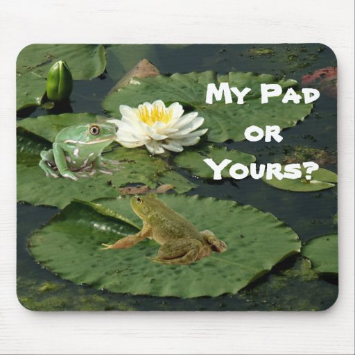 My Pad or Your's Frog Mousepad