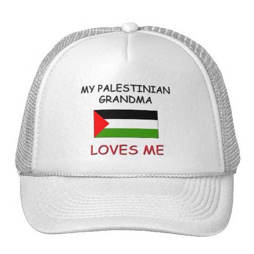My Palestinian Grandma Loves Me Trucker Hats
