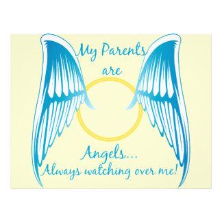 My Parents are Angels 21.5 Cm X 28 Cm Flyer