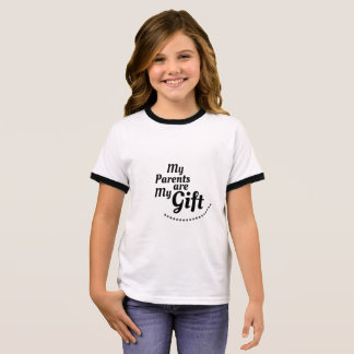 My Parents are my Gift Ringer T-Shirt