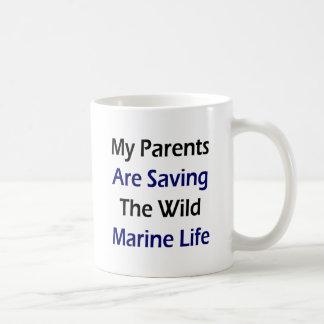 My Parents Are Saving The Wild Marine Life Mug
