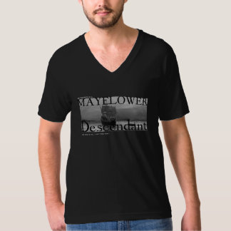 My Partner is a Mayflower Descendant, and this is T-Shirt