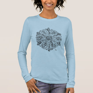 My Path (A Rumi inspired Mandala) Long Sleeve T-Shirt