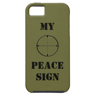 MY PEACE SIGN PHONE COVER