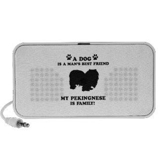 My pekingnese family, your dog just a best friend mini speakers