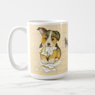 My Pembroke Welsh Corgi Ate my Homework Coffee Mug
