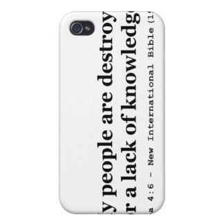 My People Are Destroyed for a Lack of Knowledge iPhone 4/4S Cover