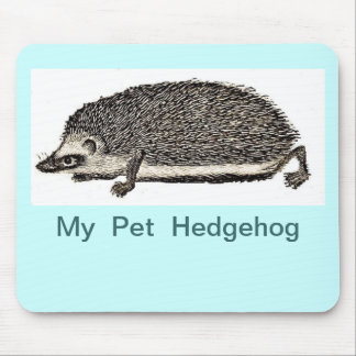 MY PER HEDGEHOG MOUSE MOUSE PAD