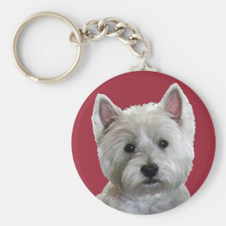 MY PERFECT WESTIE KEY RING