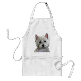 MY PERFECT WESTIE STANDARD APRON