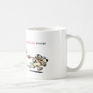 My Personal Trainer Works for Bones Basic White Mug