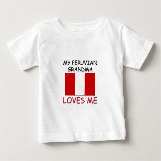My Peruvian Grandma Loves Me Baby T-Shirt