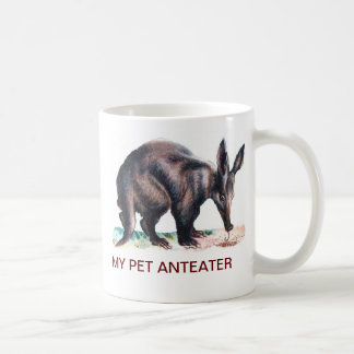MY PET ANTEATER BASIC WHITE MUG