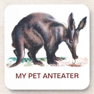 MY PET ANTEATER COASTERS