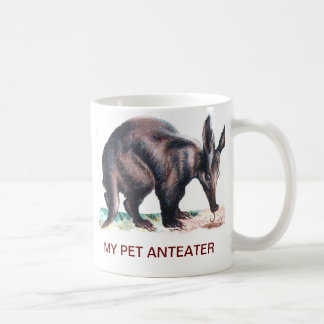MY PET ANTEATER COFFEE MUGS