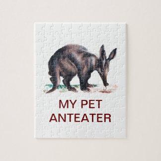 MY PET ANTEATER PUZZLES
