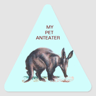 MY PET ANTEATER STICKERS