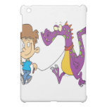 my pet dragon funny cartoon iPad mini case