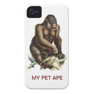 MY PET GORILLA Case-Mate iPhone 4 CASES