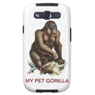 MY PET GORILLA GALAXY S3 CASES
