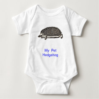 MY PET HEDGEHOG BABY SHIRT