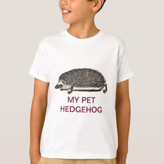 MY PET HEDGEHOG - You Should Get One T-Shirt