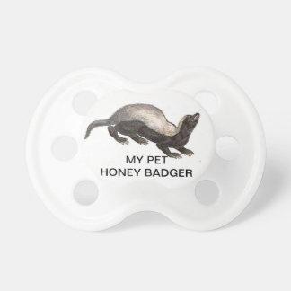 MY PET HONEY BADGER PACIFIERS