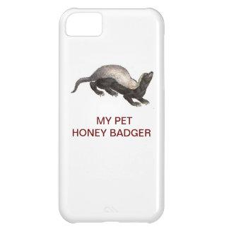 MY PET HONEY BADGER iPhone 5C CASES