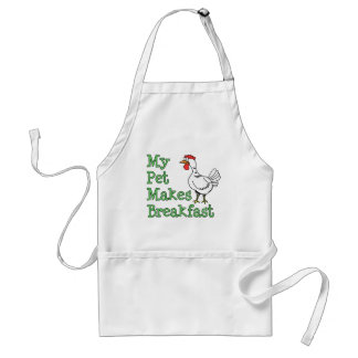 My Pet Makes Breakfast Chicken Apron
