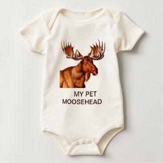 MY PET MOOSEHEAD BABY BODYSUITS