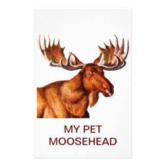 MY PET MOOSEHEAD STATIONERY PAPER