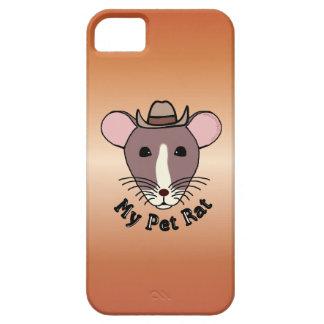 My Pet Rat Cowboy iPhone 5 Covers