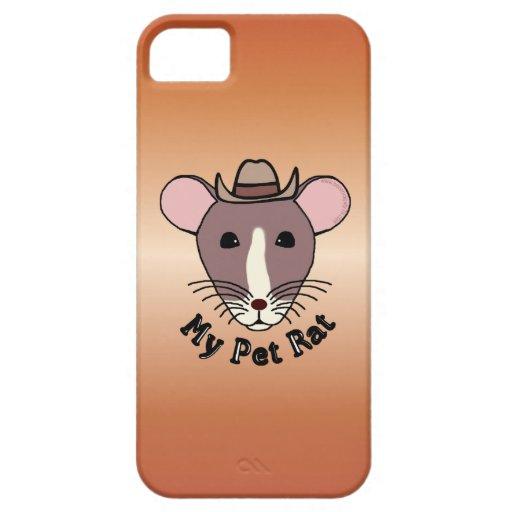 My Pet Rat (Cowboy) iPhone 5 Covers