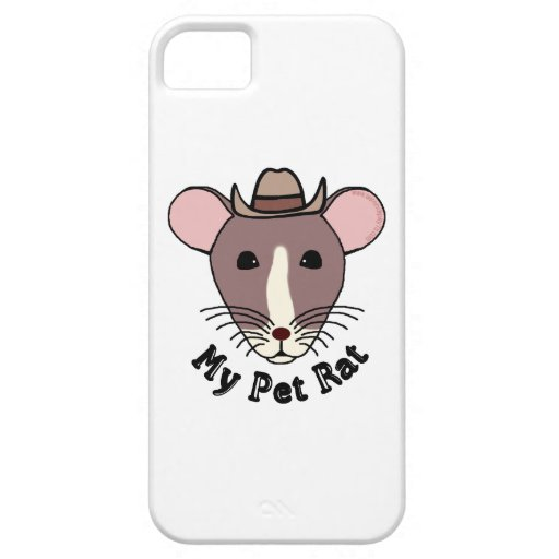 My Pet Rat (Cowboy) iPhone 5 Cases
