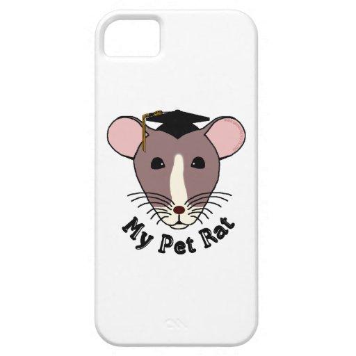 My Pet Rat (Graduate) iPhone 5 Case