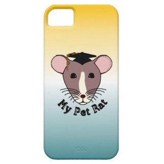 My Pet Rat Graduate iPhone 5 Cases