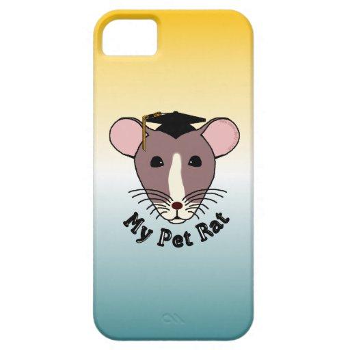 My Pet Rat (Graduate) iPhone 5 Cases