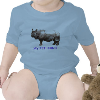 MY PET RHINOCEROS T SHIRTS
