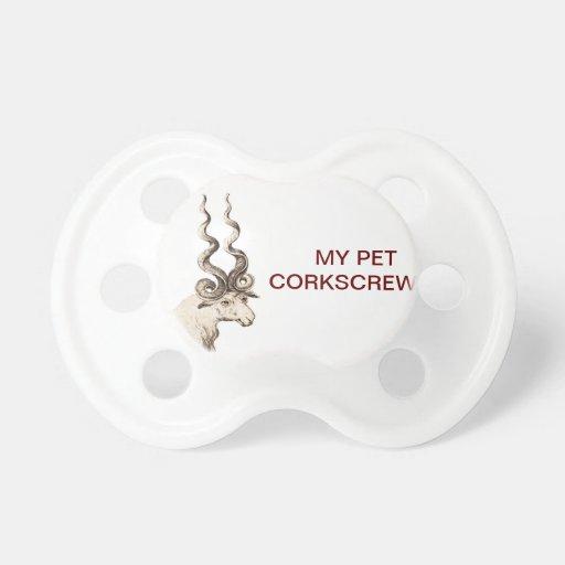 MY PET SPIRAL RAM BABY PACIFIER